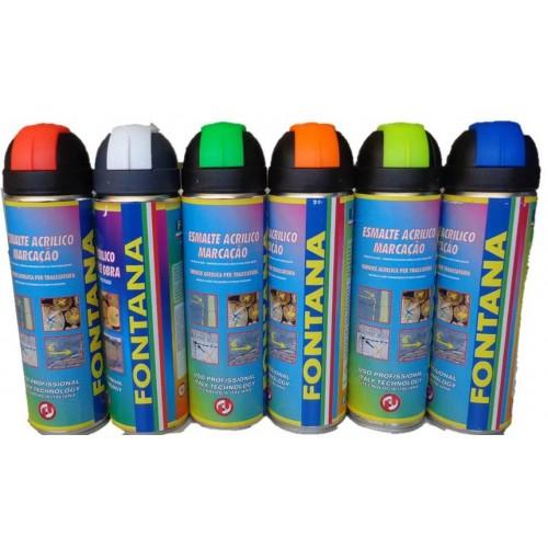Spray marcador flurescente 500 ml - Spray pintura acrilica ...
