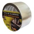 FITA ALUMINIO PARA ALTA TEMPERATURA 50MM X 10 METROS